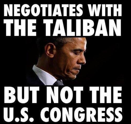 Obama Negotiates with the Taliban